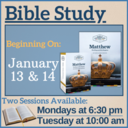 Matthew: The King & His Kingdom (Bible Study)
