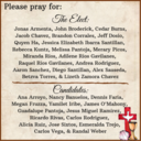Prayers for The Elect & Candidates