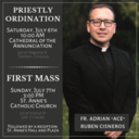 Priestly Ordination & Fr. Adrian's First Mass