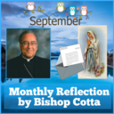 September Reflection by Bishop Cotta