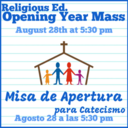 Religious Ed. Opening Mass