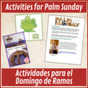 Palm Sunday Message & Activitiy for Families