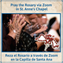 Pray the Rosary with the Ministry Team via Zoom