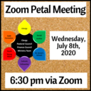 Petal Meeting via Zoom (on July 8th)