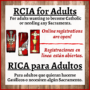 Registrations for RCIA