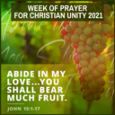 Week of Prayer for Christian Unity (January 18-25)