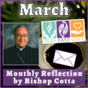 March 2021 Reflection by Bishop Cotta