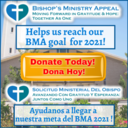 Bishop's Ministry Appeal  2021 (BMA)