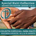 Second Collection for Haiti