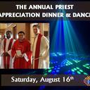 The Knights of Columbus Annual Priest Appreciation Dinner and Dance