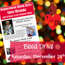 We are hosting a Blood Drive!