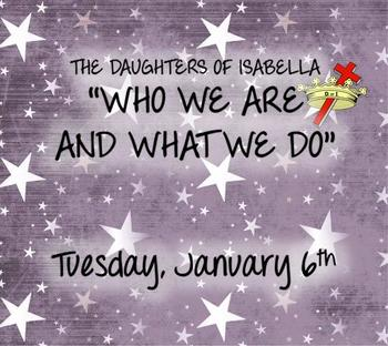 The Daughters of Isabella Informational Meeting
