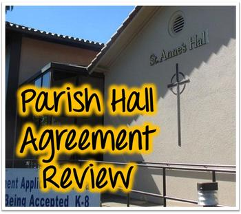 Help Us Review our Parish Hall Agreement!