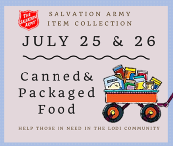 The Salvation Army Item Collection