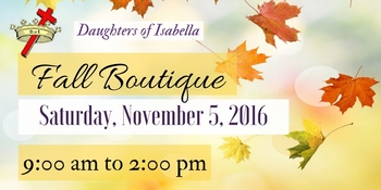 Fall Boutique!