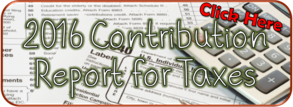 2016 Contribution Stewardship Report for Taxes