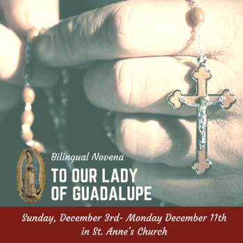 Bilingual Novena to Our Lady of Guadalupe