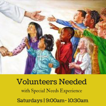 Volunteers Needed for Special Needs