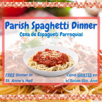 Parish Spaghetti Dinner