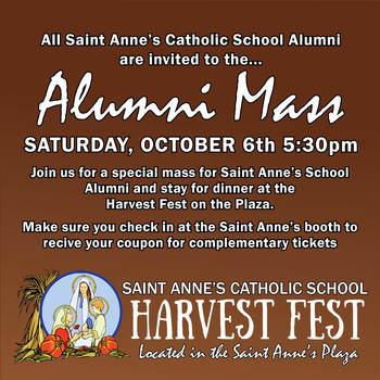 St. Anne's School Alumni Mass