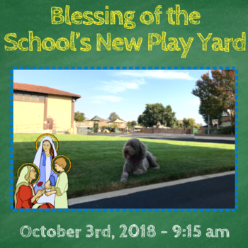 Blessing of the School's New Play Yard