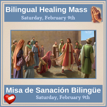 Bilingual Healing Mass