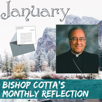 January Reflection by Bishop Cotta