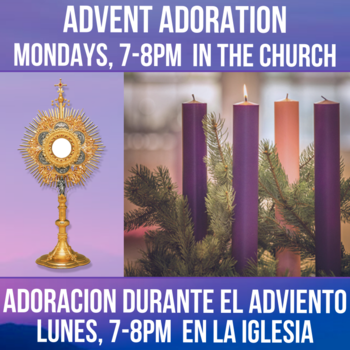 Monday Adoration during Advent