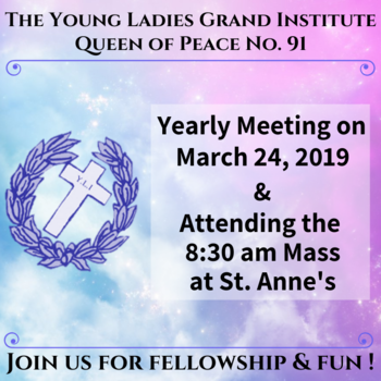 Young Ladies Grand Institute Meeting