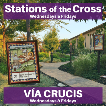 Stations of the Cross/ Via Crucis 2019