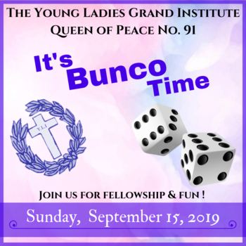 The Y.L.I. It's Bunco Time