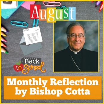 August Reflection by Bishop Cotta
