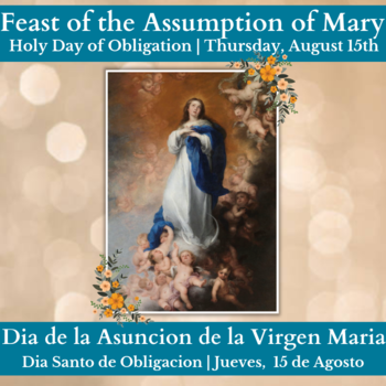 The Assumption - Holy Day of Obligation