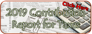 2019 Contribution Report for Taxes