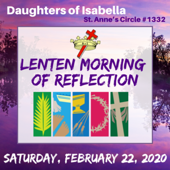 Lenten Morning of Reflection