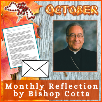 October 2020 Reflection by Bishop Cotta