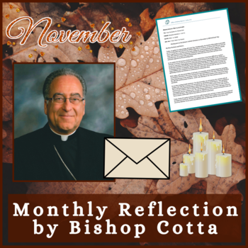 November 2020 Reflection by Bishop Cotta