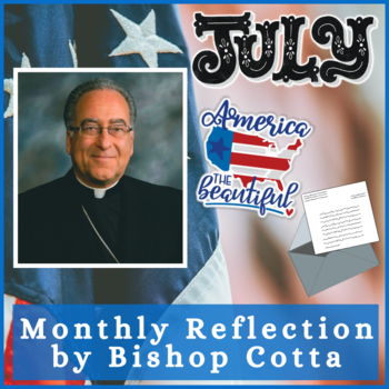 July 2020 Reflection by Bishop Cotta