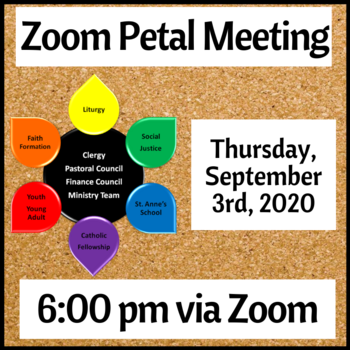 September Zoom Petal Meeting