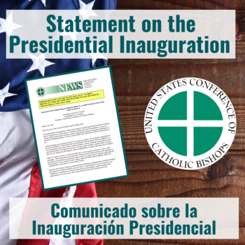 Statement on the Presidential Inauguration