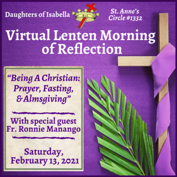 Daughters of Isabella Lenten Morning of Reflection