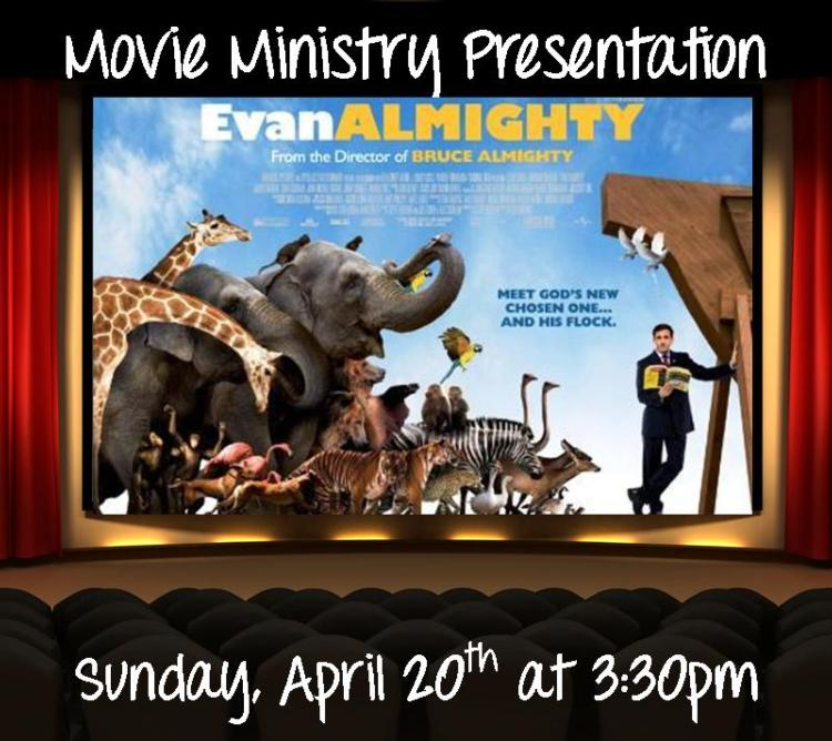 St. Anne's Movie Ministry Presentation: Evan Almighty