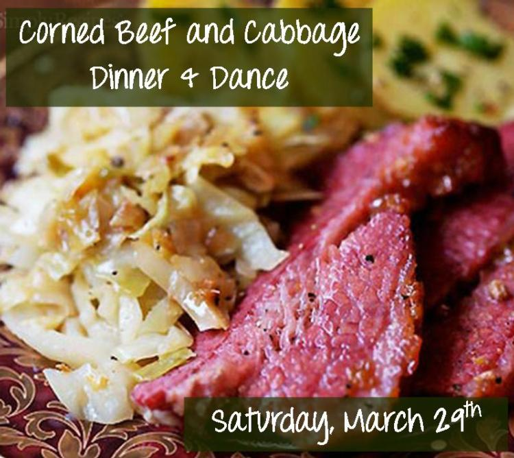 Corned Beef and Cabbage Dinner and Dance