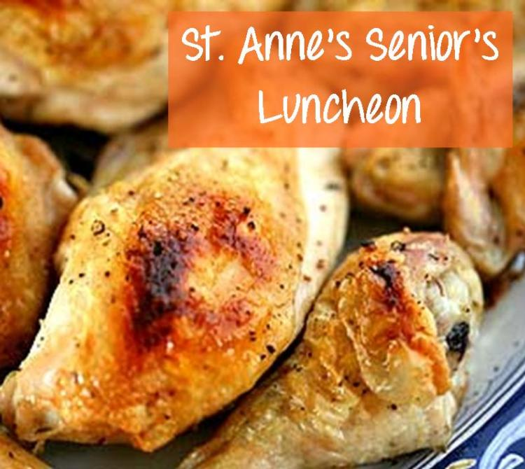 St. Anne's Senior's Luncheon