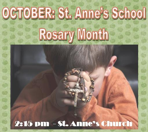 October is Rosary Month!