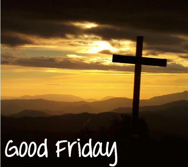 Good Friday: Parish Office and Adoration Chapel Closed