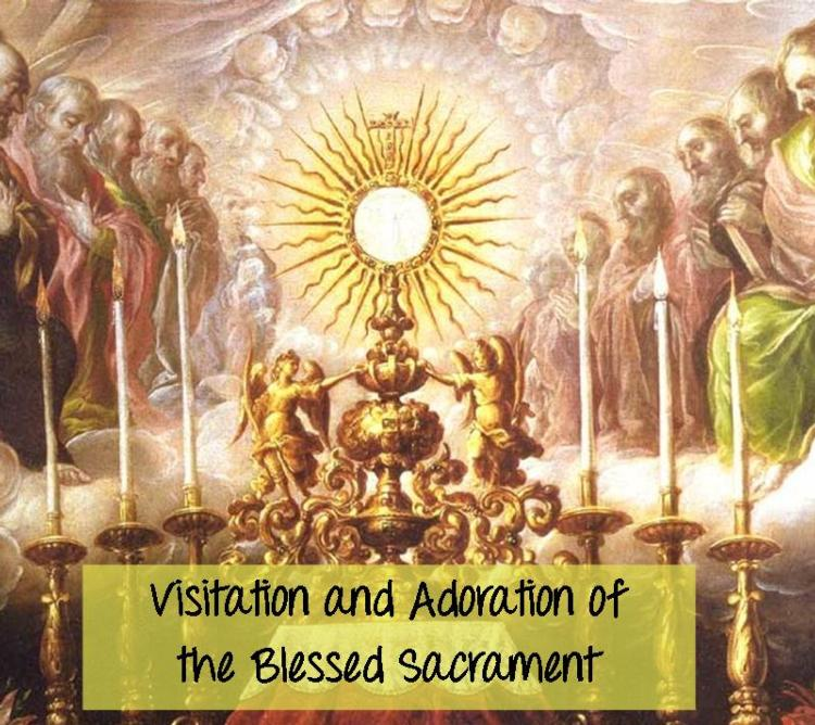 Visitation & Adoration Sign-Up