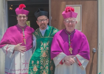 Photos from the First Mass of Rev. Glenn Baaten