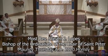 Bishop Lopes' Maundy Thursday Homily
