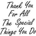 A Special Thank You